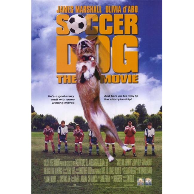 Posterazzi MOV210334 Soccer Dog Movie Poster - 11 x 17 in. - image 1 of 1