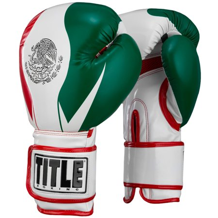 Title Boxing Infused Foam El Combate Mexico Hook & Loop Training Gloves
