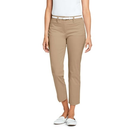 Lands End Chinos (Women's Mid Rise Chino Crop)