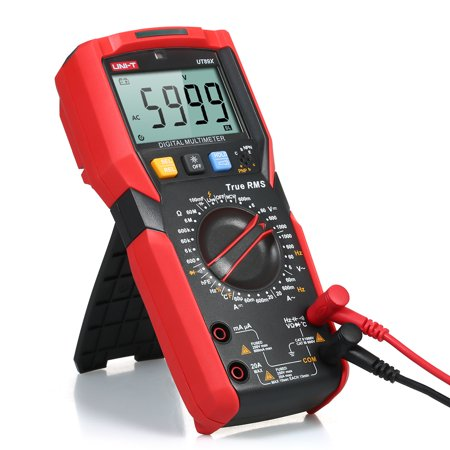 UNI-T UT89X Digital Multimeter High Accuracy Handheld Mini Universal Meter  6000 Counts LCD Display True RMS Measure AC/DC Voltage Current Resistance