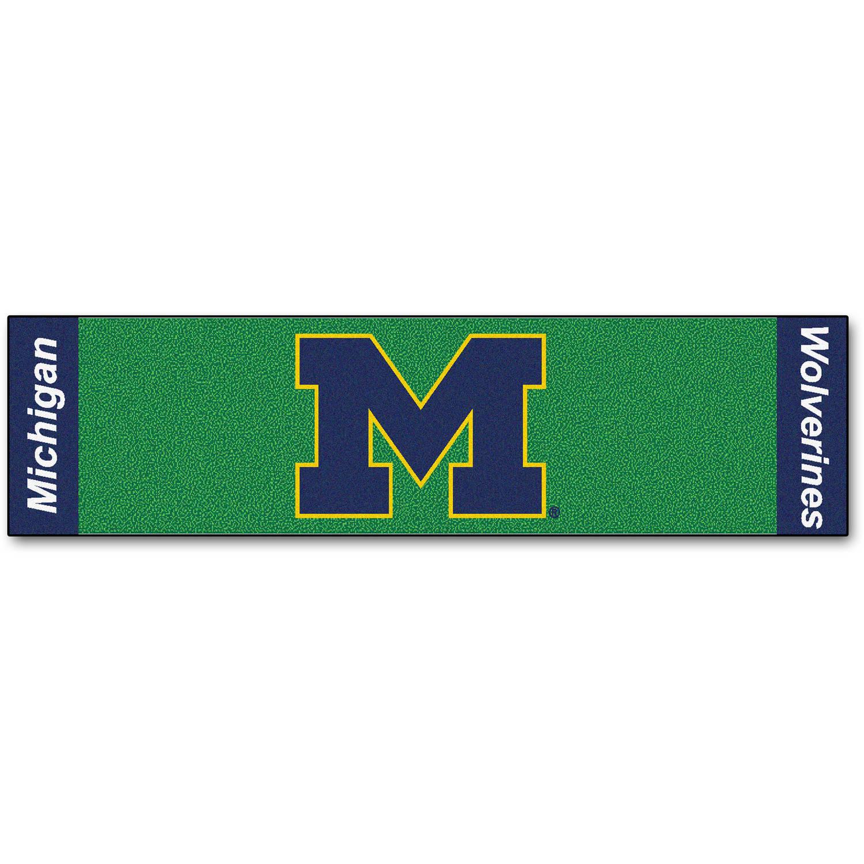 FanMats University of Michigan Putting Green Mat