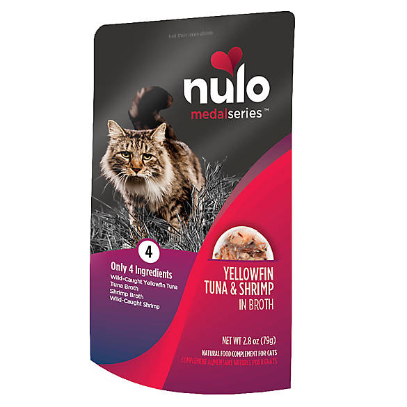 Nulo MedalSeries Cat Food Topper - Natural, Yellowfin Tuna & Shrimp 2.8 (pack of 1)