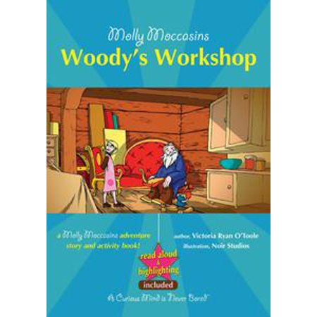 Read Aloud Halloween Books For Children (Molly Moccasins - Woody's Workshop (Read Aloud Version) -)