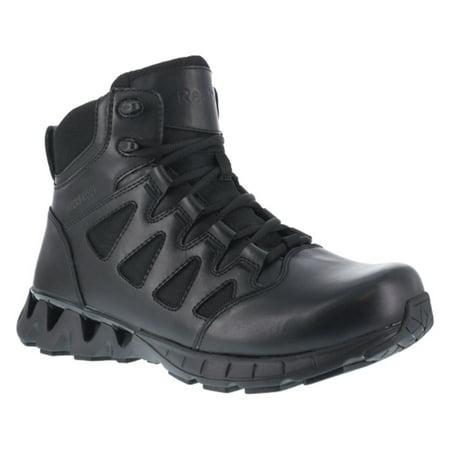 Reebok Work Mens Zigkick Tactical 6 Leather  Nylon Waterproof Boots