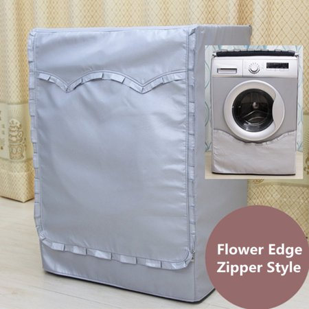 Meigar Cylinder Washing Machine Cover Oxford Washer Covers Front Load Waterproof ()