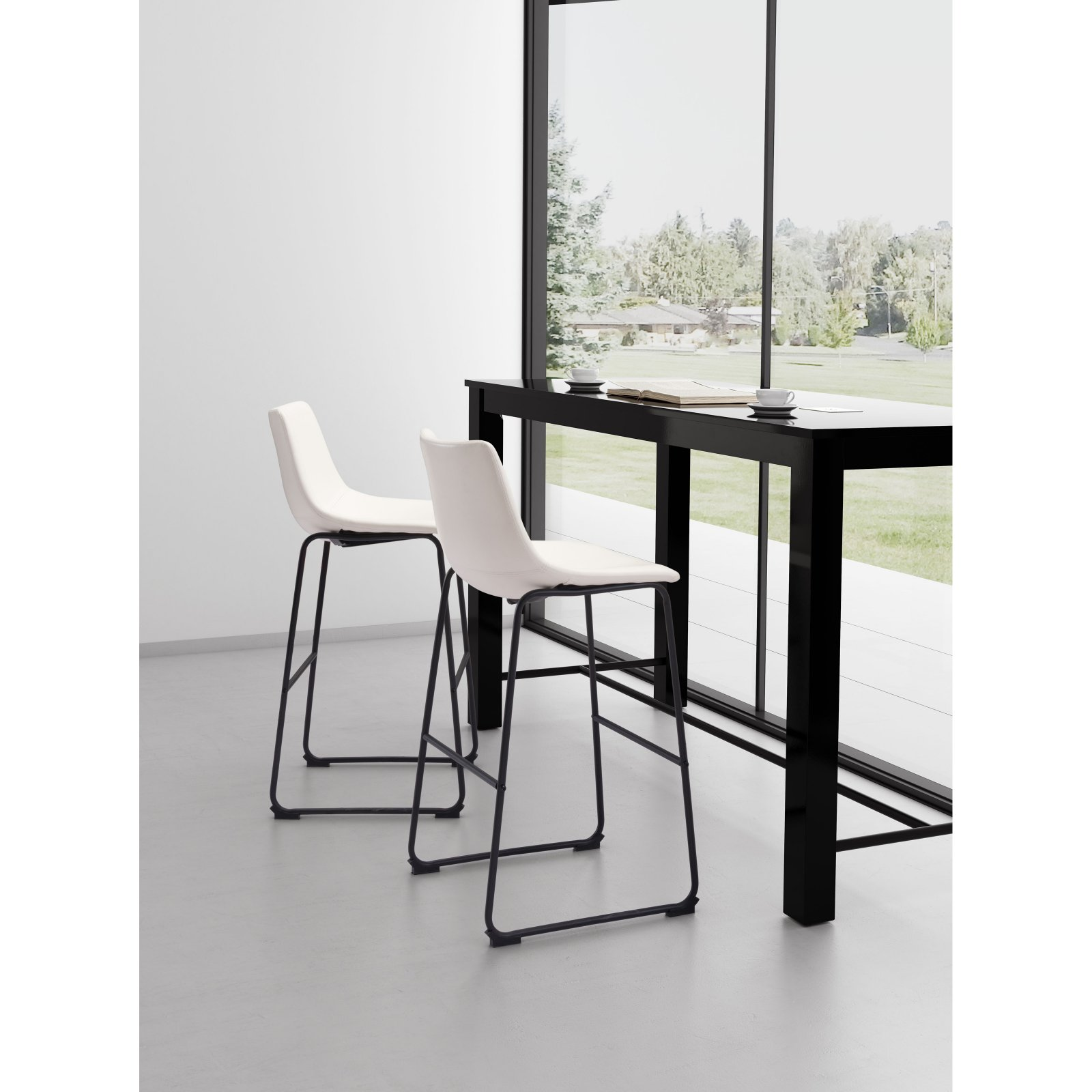 Zuo Modern Contemporary Smart 29 in. Bar Stool