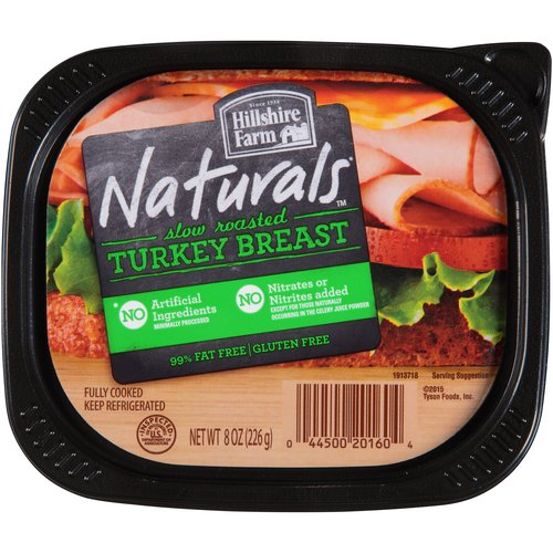 HILLSHIRE FARM NATURAL OVEN ROASTED TURKEY LUNCH MEAT