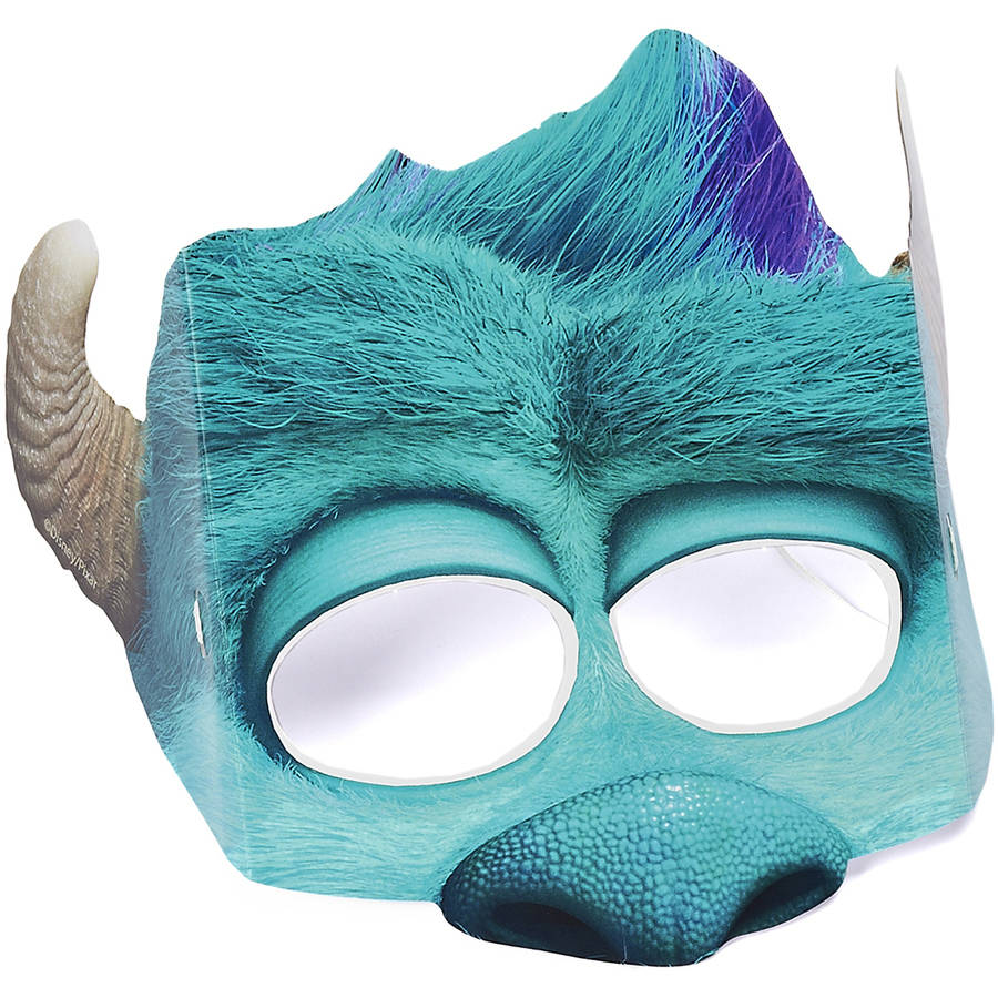 Monsters University James P. Sullivan 'Sully' Party Masks, 8ct