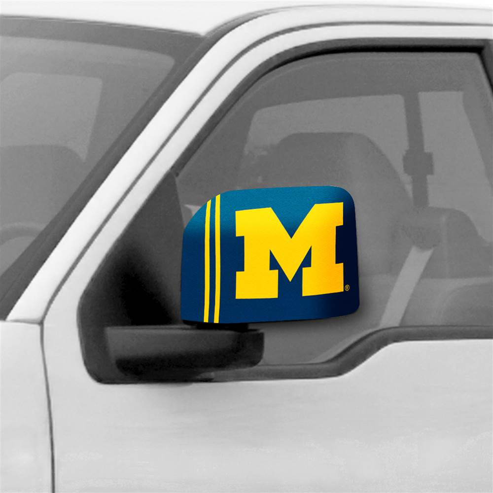 University of Michigan Large Mirror Cover