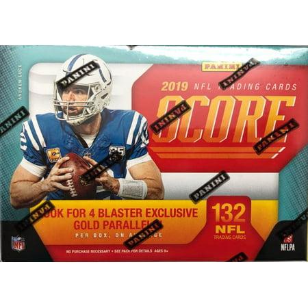 2019 Score NFL Football Blaster Box 132 Cards & AUTOGRAPH or MEMORABILIA Card ()