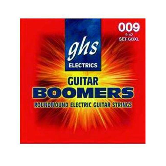 SCY GBM GHS Boomers 11-50 Gauge Medium Electric Guitar by GHS