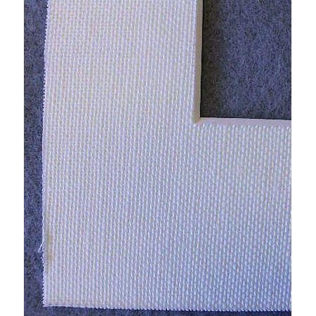 Warm White Acid Free Linen Picture Frame Mat, 11x14 by After Five ...