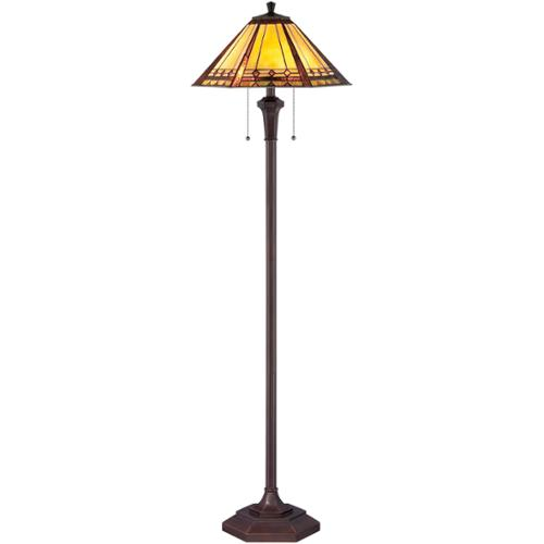 Quoizel Arden 2-light Floor Lamp by Overstock