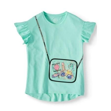 Wonder Nation 3D Embellished Graphic T-Shirt (Little Girls, Big Girls & Big Girls Plus)