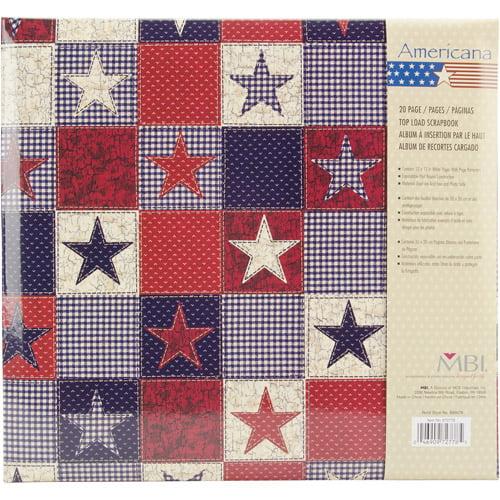 "MBI American Stars Postbound Album, 12"" x 12"""