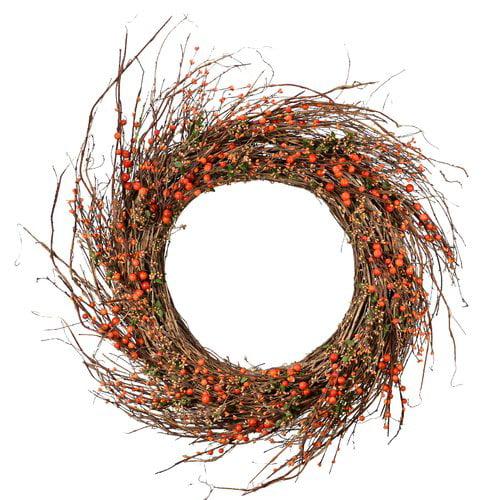 August Grove Berry 34'' Wreath