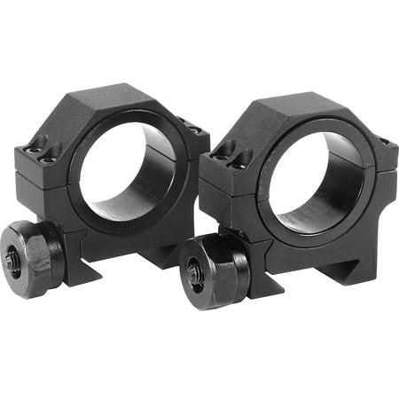 Barska Optics 30Mm Low Hd Weaver Style Scope Rings With 1  Insert