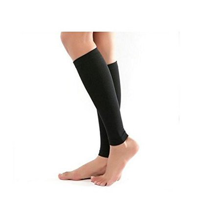 Yosoo Thin Leg Calves Shaper Burn Fat Socks Compression Stovepipe Socks Leg Arm Warmers Calves Sleeves
