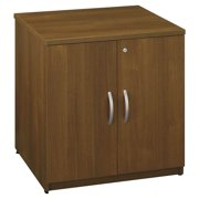 Locking Storage Cabinet in Warm Oak - Series C