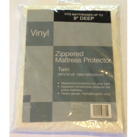 Waterproof Zippered Mattress Protector by Bed Bath & Beyond