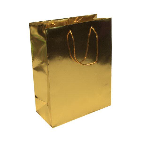 JAM Large - 10 x 13 x 4 - Gold Foil - 100 per case