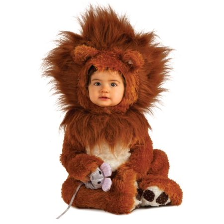 Infant Lion Cub Costume : Baby Lion Cub Halloween Costume  12-18 - Crazy Halloween Costumes For Babies