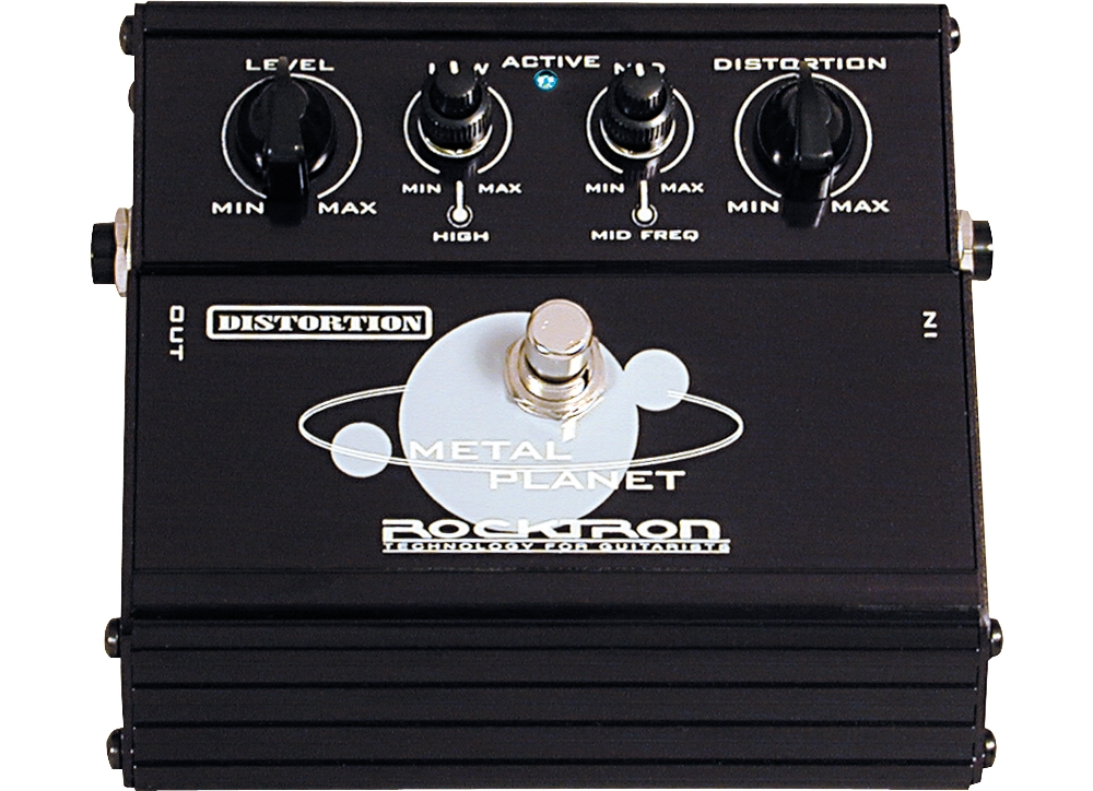Rocktron Metal Planet Distortion Pedal by Rocktron