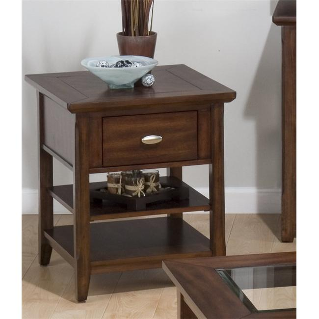 Jofran 709-7 Bellingham Brown Chairside Table