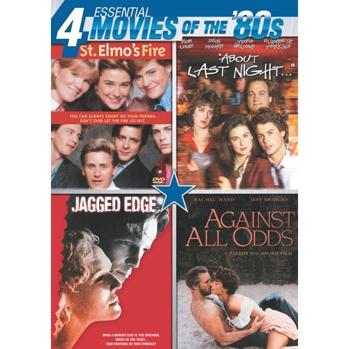Essential Movies Of The '80s: St. Elmo's Fire / About Last Night / Jagged Edge / Against All Odds (Widescreen)