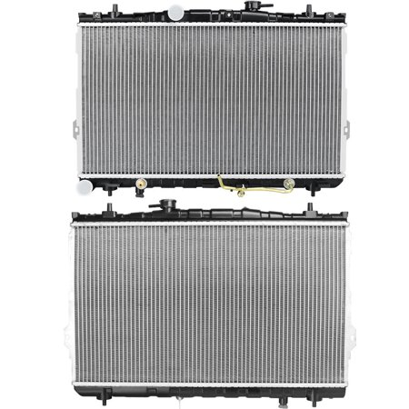 2387 Radiator for 01-08 Hyundai Elantra Tiburon 2.0 2.7L L4 V6 Lifetime Warranty 2001 2002 2003 2004 2005 2006 2007 2008 ()