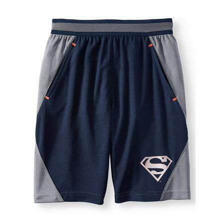 Superman Active Performance Shorts (Little Boys & Big Boys) (Superman Converse Kids)