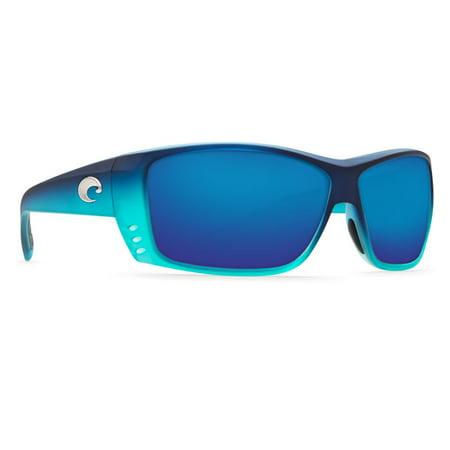 Costa Del Mar Cat Cay AT Matte Caribbean Fade (Sunglasses That Fade From Dark To Light)