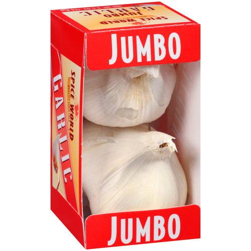 Spice World Jumbo Garlic, 2.5 oz