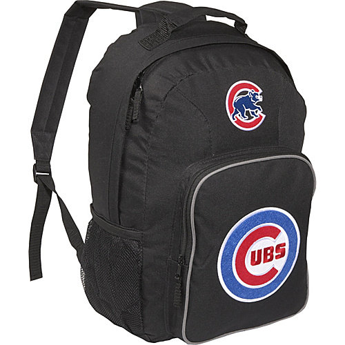 MLB Southpaw Backpack - Chicago Cubs, Black