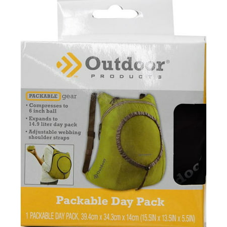 Outdoor Products Packable Day Pack Backpack