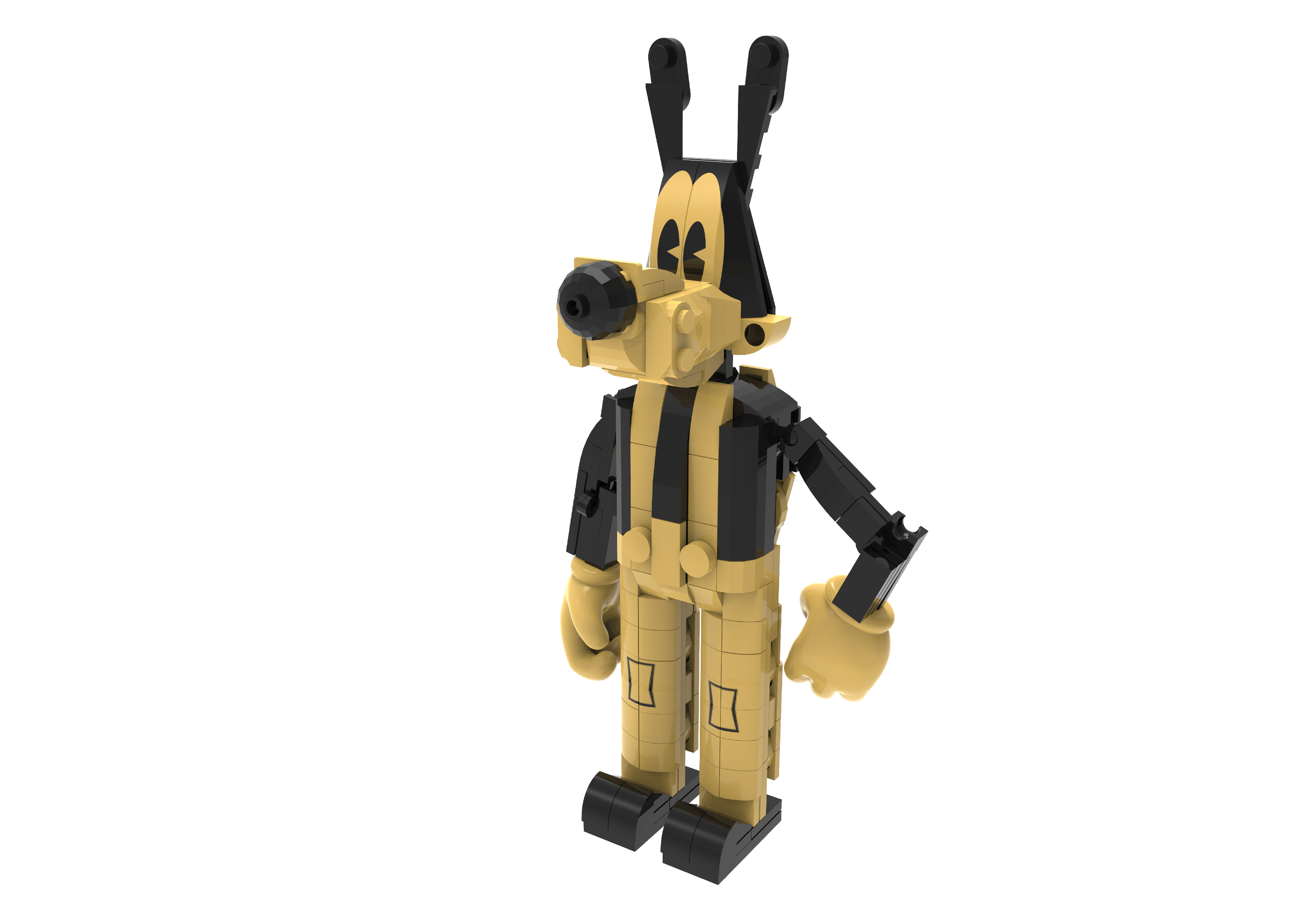 Figs Bendy 14Yrs+ Bendy And The Ink Machine Buildable Figure