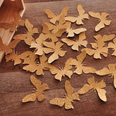 Fairy Party Decorations. Ships in 1-3 Business Days. Garden Party Table Decor. Butterfly Confetti 25CT.](Butterfly Party Decor)