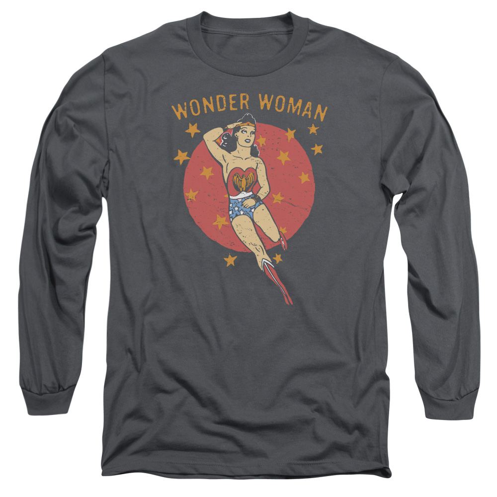 DC Comics Wonder Circle Mens Long Sleeve Shirt