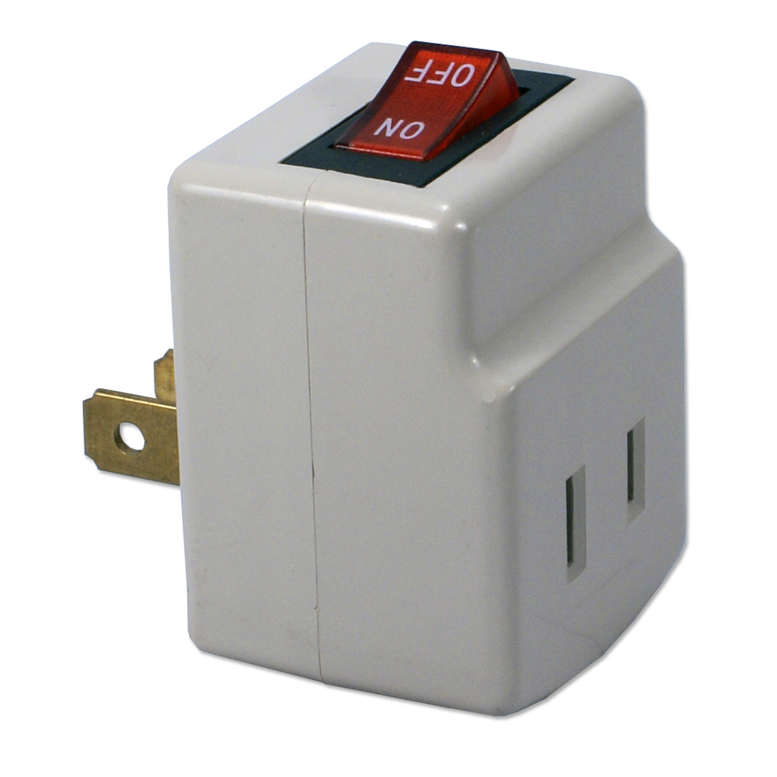 QVS Single-Port Power Adaptor with Lighted On/Off Switch