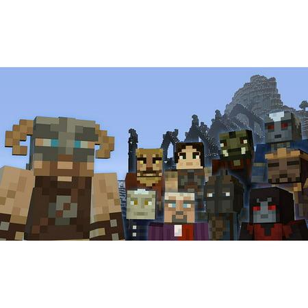 Minecraft: Wii U Edition DLC - Skyrim Mash-up Pack, Nintendo, WIIU, [Digital Download], 0004549666131 - Skyrim Halloween Edition