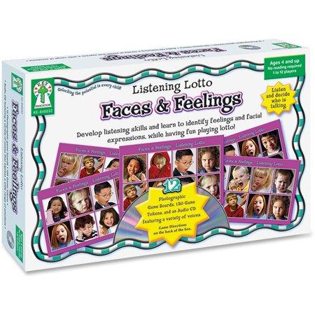Carson-Dellosa, CDP846032, Grades PreK-1 Faces/Feelings Board Game, 1 Each, Multi](Carsondellosa Com)