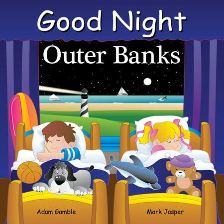 Good Night Outer Banks (Board Book) - Adam Banks Halloween