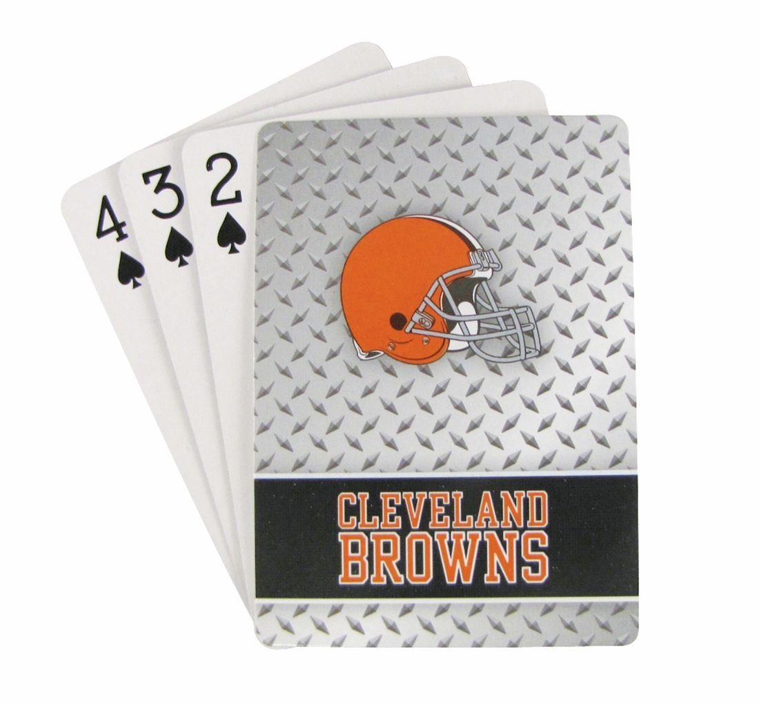 Cleveland Browns Playing Cards - Diamond Plate