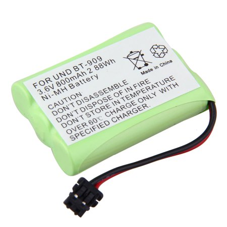 NEW 3.6V 800mAh Ni-MH Cordless Home Phone Battery For Uniden BT-909 BT 909 BT909 Energizer: ER-P153, (Bt 905 Cordless Phone)