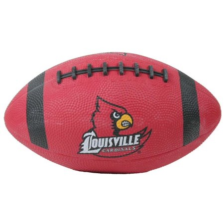 Louisville Cardinals Mini Rubber Football (Personalized Mini Footballs)