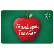 School Apple Script Walmart eGift Card