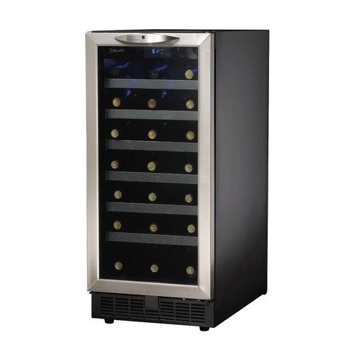 Danby 34 Bottle Silhouette Single Zone Built-In Wine Cooler