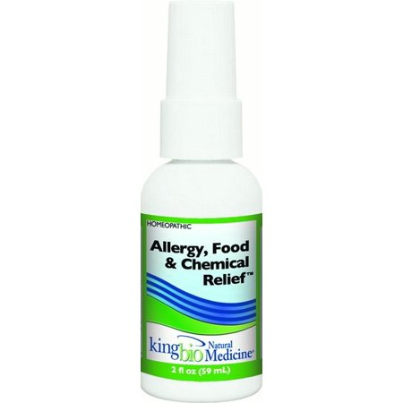 King Bio Homeopathic Food Chemical Intolerance  2 Fl Oz