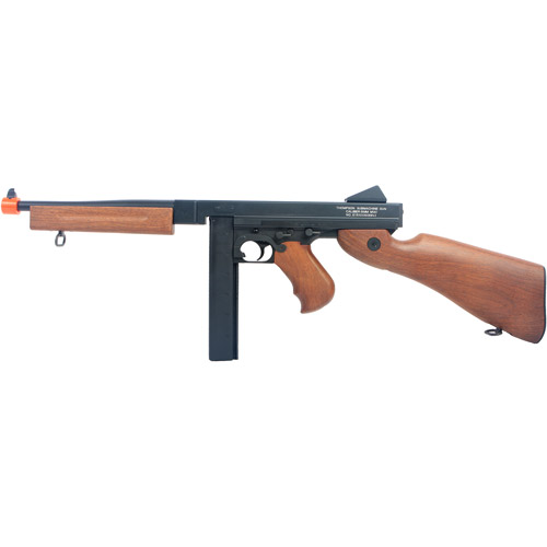 Thompson M1A1 AEG, with Large Battery and Charger