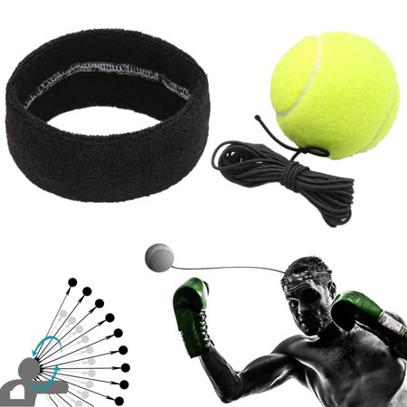 Fight Ball with Head Band For Reflex Speed Training Boxing MMA Punch Exercise